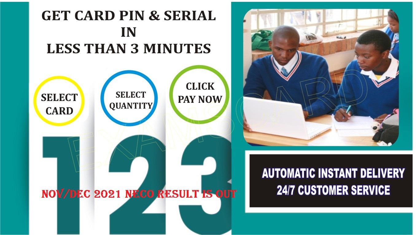 Waec scratch card dealers
